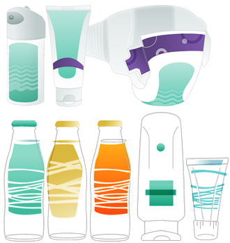 Diseñamos y producimos artes finales para empaques, envases y etiquetas